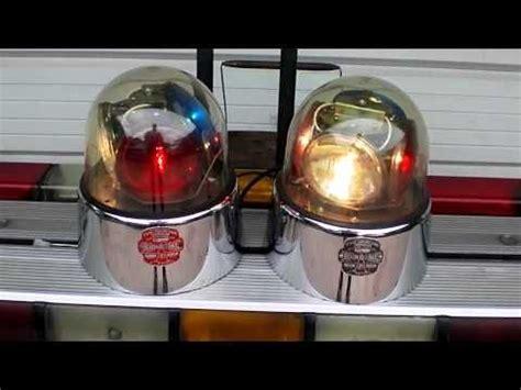 antique beacons two federal signal beacon