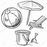 Chair Coloring Vacation Drawing Sketch Adirondack Towel Towels Chairs Ball Doodle Illustration Umbrella Vector Table Getdrawings Includes Pail Shovel Lhfgraphics sketch template