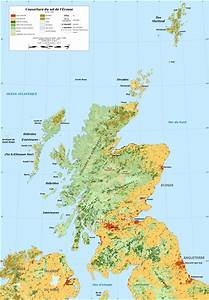 Fichier Scotland Land Cover Map