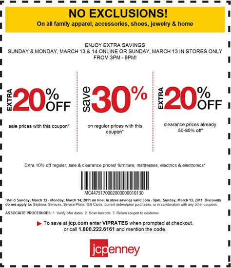05997 Penneys Coupons 20 by Jcpenney Outlet Coupons Printable J C Penney The