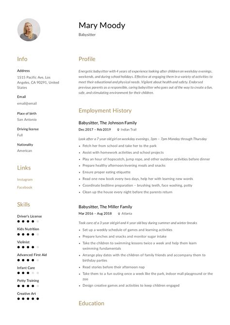 The Resume by Resume Exle Writing Guide 12 Sles
