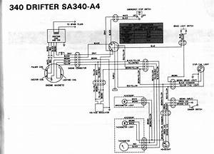 Kawasaki Drifter 340 F  A Wont Shut Off
