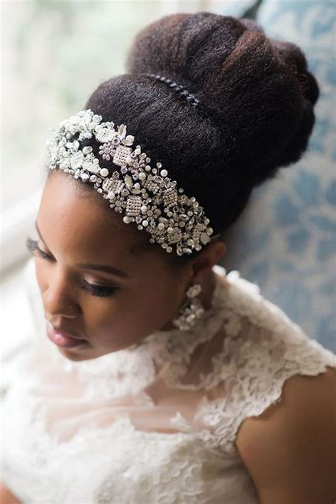 wedding hairstyles  natural haired brides