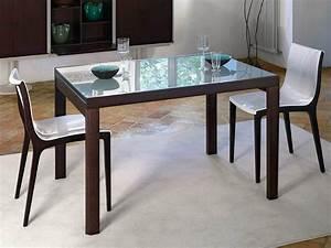 Table A Manger Carrée Extensible : table extensible manger carr e compact by midj design r d ~ Teatrodelosmanantiales.com Idées de Décoration