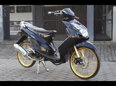 Modifikasi Mio Sporty Hitam by Modifikasi Mio Sporty Hitam Kuning Modifikasi Motor