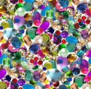 Gem, Jewel, Diamond Seamless Background Tile Picture