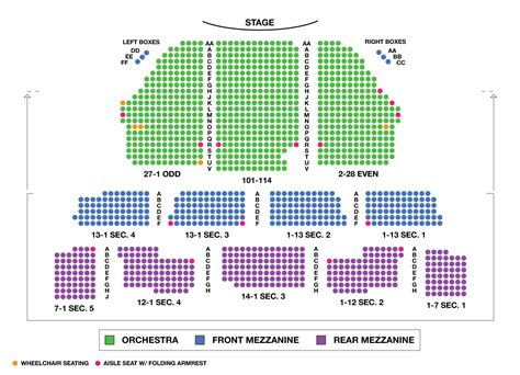 westchester broadway theatre seating chart seating chart imperial theatre large broadway seating charts