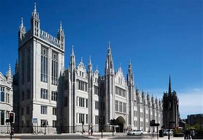College Buildings Marischal Aberdeen Building University Architecture