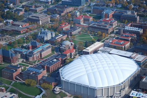 syracuse university aerial view john marino flickr