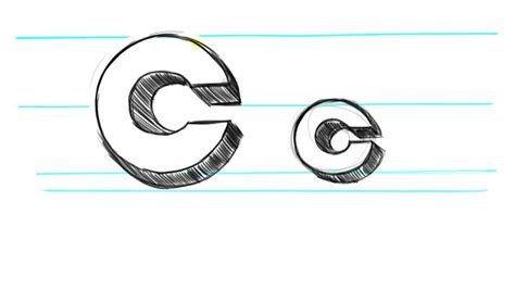 Uppercase C And Lowercase C In