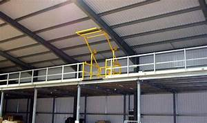 What are the different means of escape from mezzanine floors for What does mezzanine floor mean