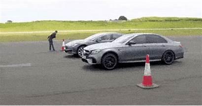 Tesla Mercedes Amg Acceleration E63s P100d Outrace