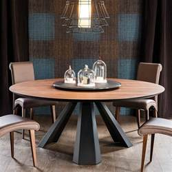 tables rondes salle a manger table de salle 224 manger de design italien par cattelan italia