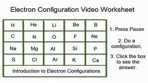 31 Electron Configuration Worksheet Answers