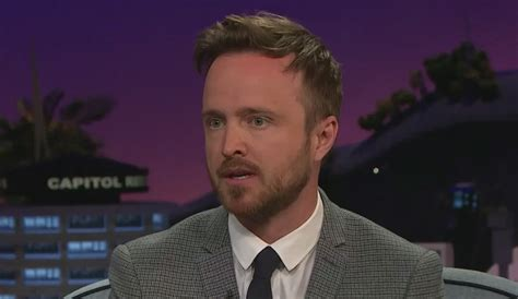 aaron paul just jared aaron paul says his wedding was crashed by three fans