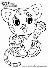 Coloring Tiger Pages Printable Cubs Tigers Drawing Animals Animal Sheets Tigger Colouring Babies Books Getdrawings Bratz Popular Cartoon Adult Colorings sketch template