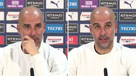 Man City: Guardiola gives team news for Brighton match ...