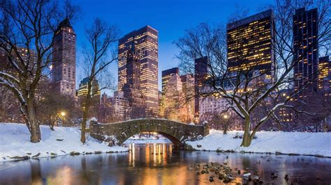 Winter New York Wallpaper 1920x1080 by New York Wallpapers Top Free New York