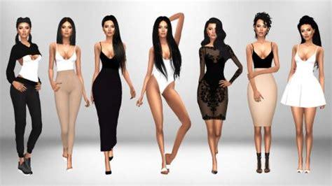 immortal sims sims  bodysuit outfit ideas pt  cc