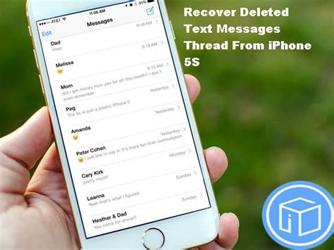 how to recover deleted text messages on iphone 6 recover deleted text messages thread from iphone 5s
