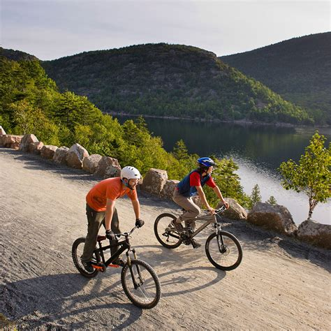 Boating Holidays Near Me by Best Places To Bike In Maine Travel Leisure