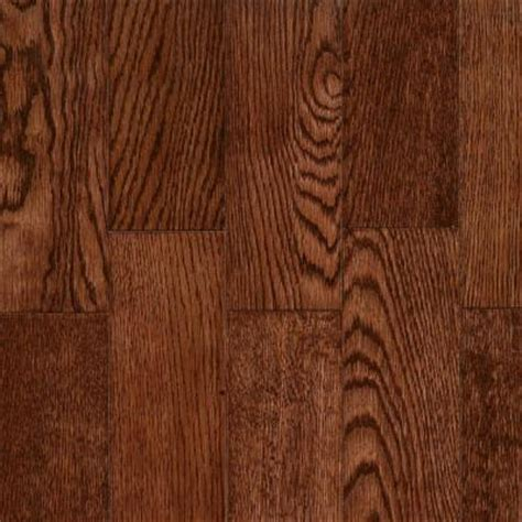 home depot oak flooring unfinished bruce bordeaux oak solid hardwood flooring 5 in x 7 in take home sle br 665061 the home