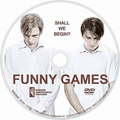 Funny Games Tv Fanart Dvd Disc Movies