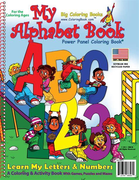 alphabet coloring books coloring books my alphabet book abc 123