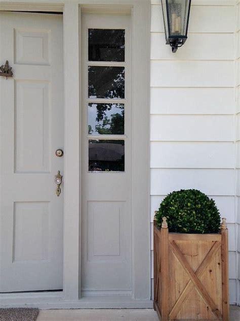 siding  sw pure white   door  sw dorian gray