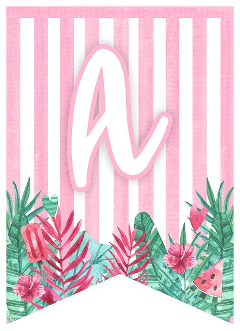 printable flamingo party pack  cottage market
