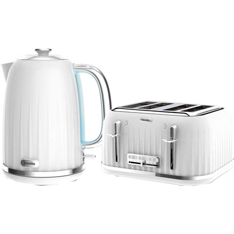 kettle and toaster breville impressions collection kettle and toaster bundle