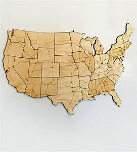 Interstate Highways Magnetic Wood USA Puzzle Art Art