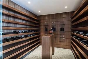 Cave À Vin Design : design interieur porte bouteilles mural bois design moderne cave vin moderne sur mesure table ~ Voncanada.com Idées de Décoration