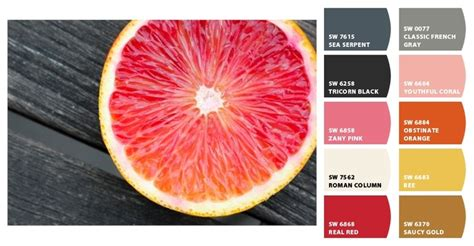 grapefruit palett paint colors from chip it by sherwin