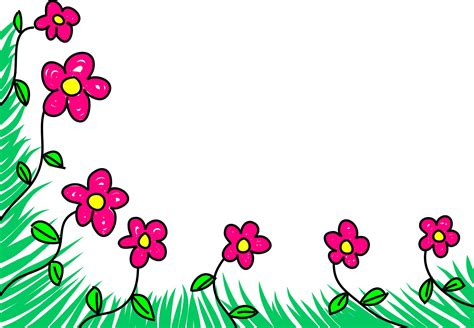 floral border free domain pictures