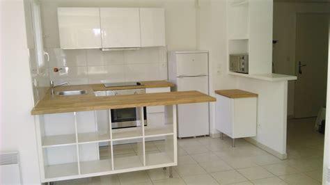 plan de travail amovible pour cuisine séparation de cuisine avec kallax bidouilles ikea