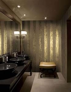 Ausgefallene Tapeten Wohnzimmer : luxury wallcoverings luxustapete 22 streifen tapete ~ A.2002-acura-tl-radio.info Haus und Dekorationen
