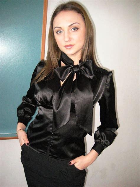 satin blouse satin blouses satin blouse with tie neck