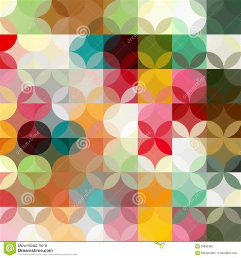 abstract colorful geometric background stock vector