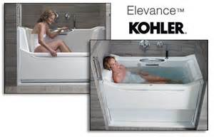 kohler bathtubs for seniors walk in tubs pykles remodeling plumbing showroom