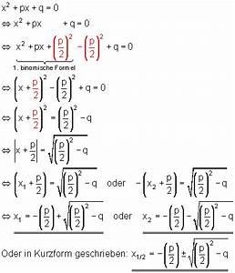 Nullstellen Berechnen Pq Formel : quadratische gleichungen und p q formel mathe brinkmann ~ Themetempest.com Abrechnung