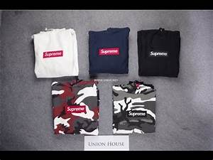 [UNHS] Union House Supreme Box Logo Camo Hoo