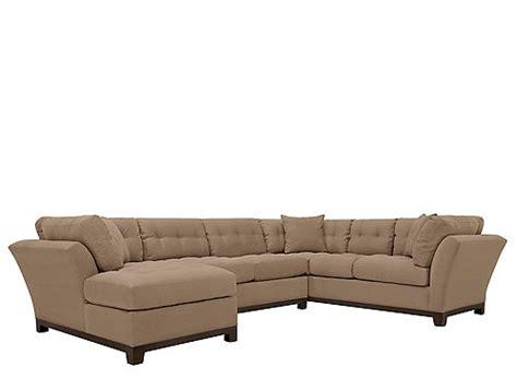 metropolis 3pc sectional sofa home metropolis 3 pc microfiber sectional