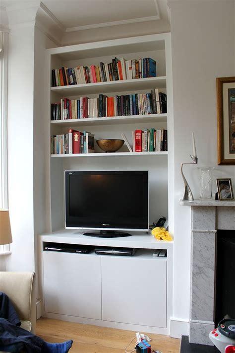 Tv In Bookcase by 15 Best Of Tv Bookshelf