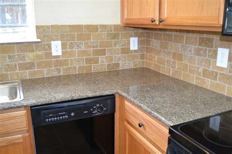 kitchen counter top tile tile countertops antique brown granite tile kitchen