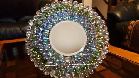 mirrored plate  gems dollar tree crafts youtube