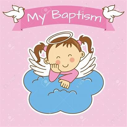 Baptism Angel Vector Cloud Clip Illustration Wish