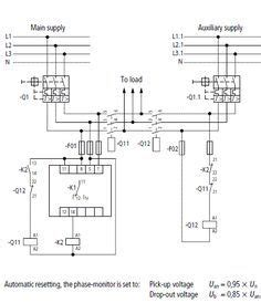 result for 3 phase changeover switch wiring diagram
