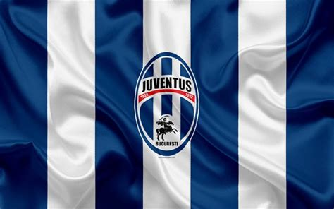 Download wallpapers FC Juventus Bucuresti, 4k, Romanian ...