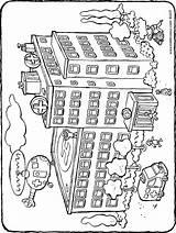 Krankenhaus Hospital Ziekenhuis Ausmalbilder Colouring Kiddicolour Kleurplaat Drawing Het Kostenlos Playmobil Colorear Kiddimalseite Tekening Ausdrucken Malvorlagen Zum Kleurplaten Kleurprent 01h sketch template